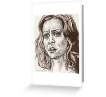 Tabula Rasa - Willow - Buffy S6E8 Greeting Card