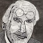 47 - C.G.JUNG - DAVE EDWARDS - PEN & INK - 1981 by BLYTHART