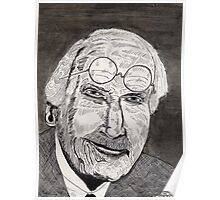 47 - C.G.JUNG - DAVE EDWARDS - PEN & INK - 1981 Poster