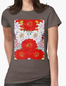 Dazzlin' Dahlia Drama Womens Fitted T-Shirt
