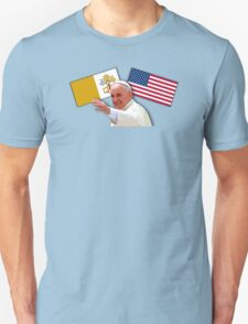 Pope with flags 1 T-Shirt