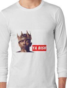 "Kendrick Lamar ""YA BISH"" OBEY Style Long Sleeve T-Shirt"