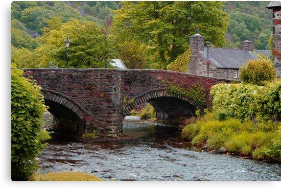 Beddgelert Snowdonia . by Irene  Burdell