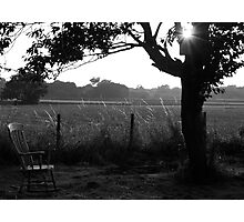 Lonely Arm Chair Photographic Print