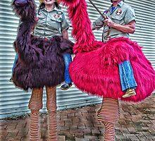 EMU JOCKEYS by Helen Akerstrom Photography
