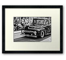 B&W F100 Framed Print