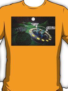 The Illuminati Crop Circle T-Shirt
