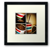 A Strong Cup.... Framed Print