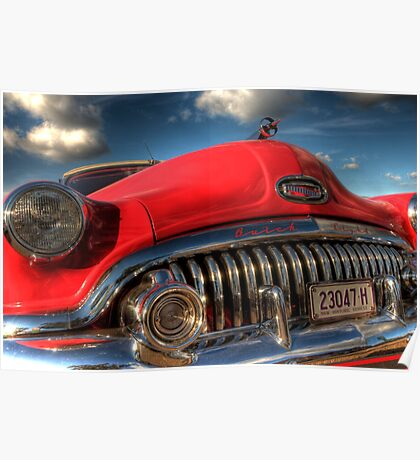 Red Buick Poster