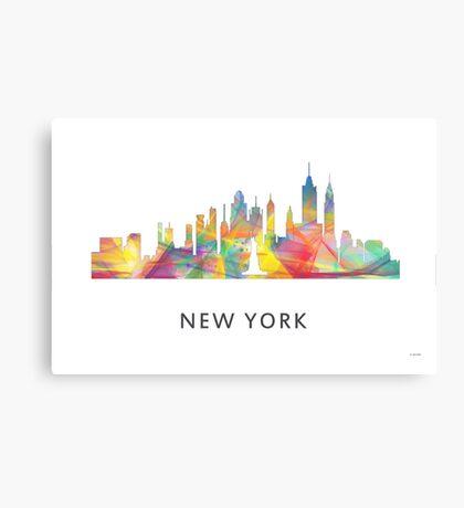 New York City, New York skyline WB1 Canvas Print