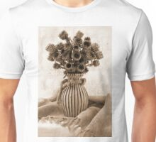 Globe Cornflower Seed Heads Unisex T-Shirt