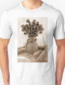 Globe Cornflower Seed Heads T-Shirt