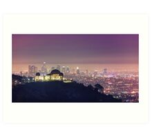 Los Angeles Cityscape Art Print