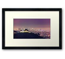 Los Angeles Cityscape Framed Print