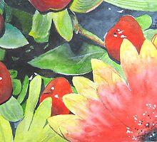 Colour Contrast Composition by Tonkin