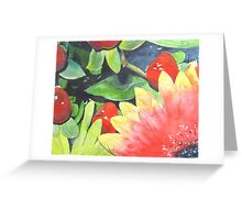 Colour Contrast Composition Greeting Card