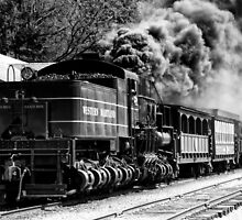 Cass West Virginia Train by KellyHeaton