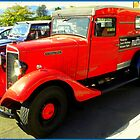 International Delivery Van  ~  Old Timers ... by Pieta Pieterse