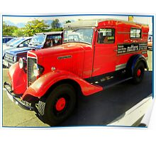 International Delivery Van  ~  Old Timers ... Poster