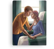 In Sickness and in Health Metal Print