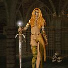 Queen Gedren .. Sorceress by LoneAngel