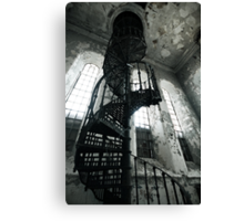 Helical Stairs Canvas Print