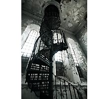 Helical Stairs Photographic Print
