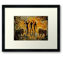 African Art. Framed Print