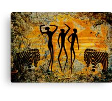 African Art. Canvas Print
