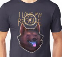 I Love My Rescue Unisex T-Shirt