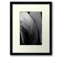 Sweating Steel Framed Print