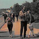 Life on a Sidewalk Sunday by linaji