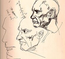 PICASSO, NOT MY ART TEACHER by Seahawk  Wang-RADOJCIC