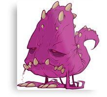 Monster-vector Metal Print