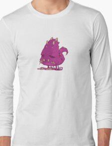 Monster-vector Long Sleeve T-Shirt