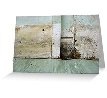 Grungy Greeting Card