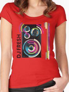 DJ Fresh Women's Fitted Scoop T-Shirt