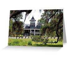 The Magnolia Plantation Greeting Card