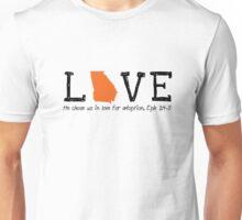 Love: Domestic Adoption Unisex T-Shirt