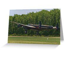 Avro Lancaster Mk X  Greeting Card