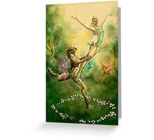 Fairy Ballet by Rob Carlos Greeting Card