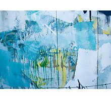 Graffiti Blue No.1 Photographic Print