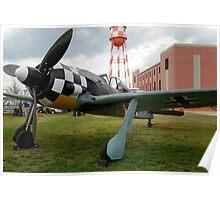 Focke-Wulf FW-190 A3 Poster