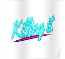 Killing it - Hotline Miami Poster