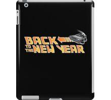 Back to the New Year (Back to the Future) Color iPad Case/Skin