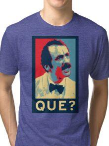 QUE? Tri-blend T-Shirt