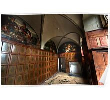 The Panelled Room - Bolsover Castle Poster