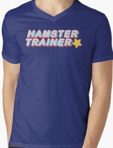 Hamster Trainer Arcade Mens V-Neck T-Shirt