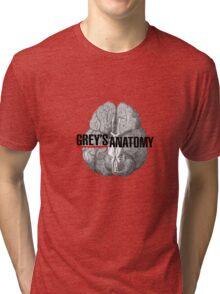 Grey's Anatomy Brain Tri-blend T-Shirt