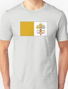 Papal flag 2 T-Shirt